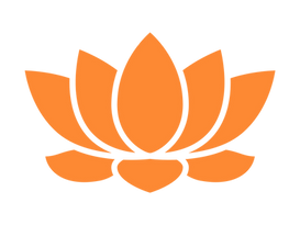 Orange Lotus Flower