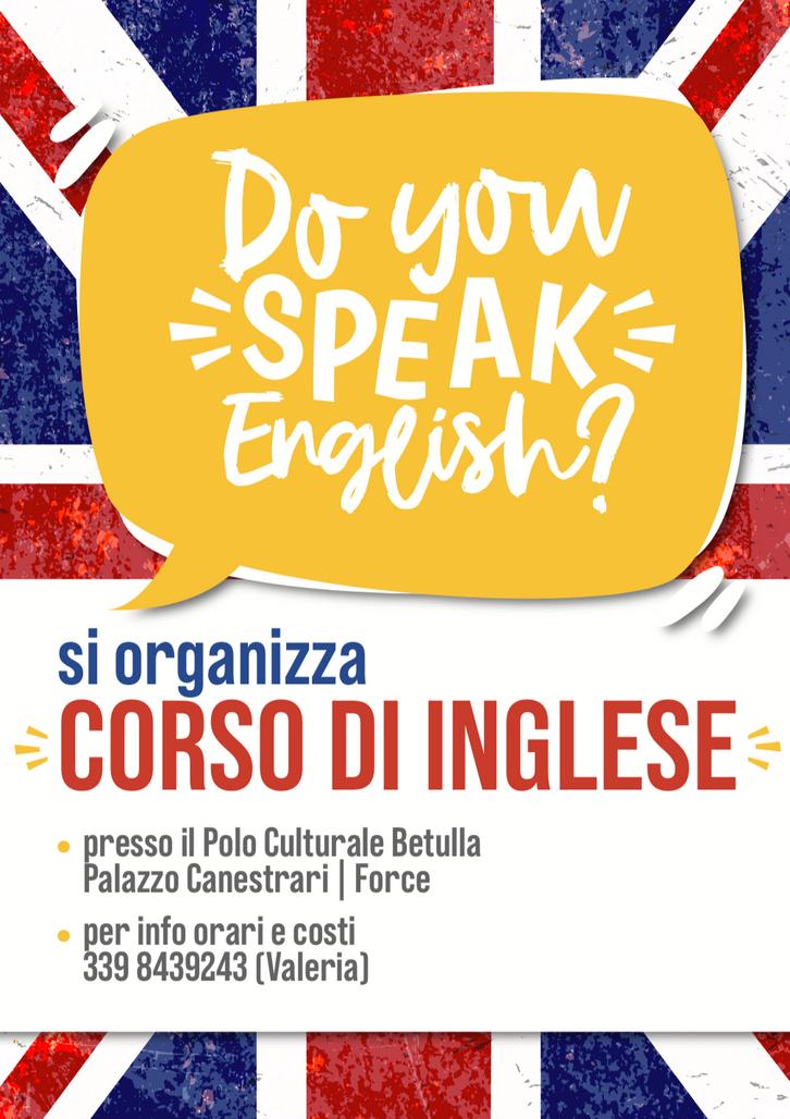 English course, 2020