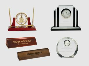 Desk Clocks, Wedges.jpg