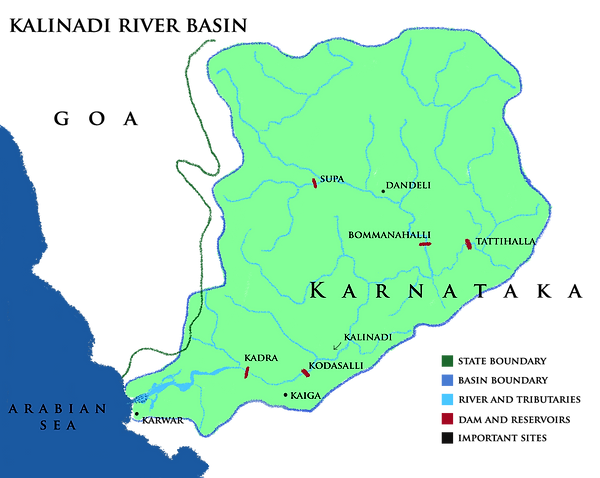 Kalinadi River Basin.png