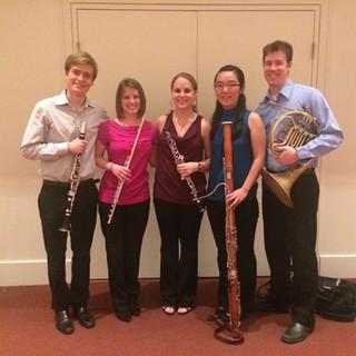 Woodwind Quintet Performance, Rice University.