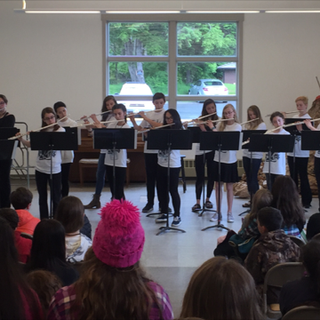 SFAC Middle School Flute Choir final performance