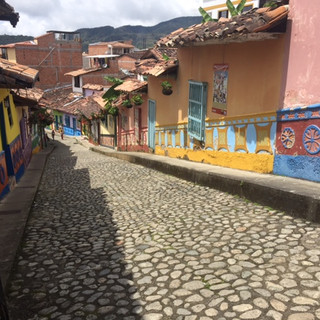 Road trip from Medellín to Guatapé, Colombia.