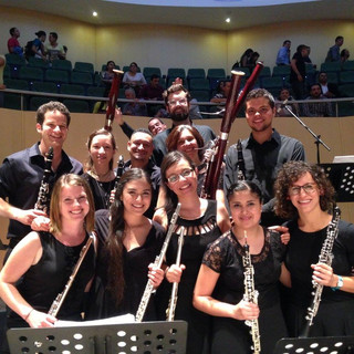 New World Symphony and Iberacademy musicians perform in Medellín, Colombia.