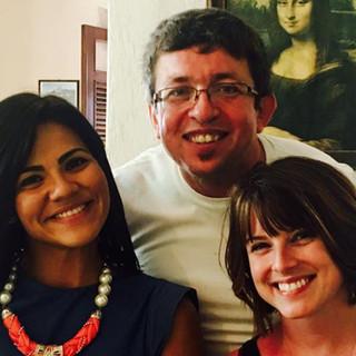 It was a treat to see flutists Muñeca Torres Rivera and Josué Casillas in San Juan, Puerto Rico last spring!