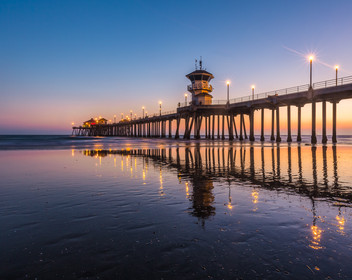 HB Pier Reflections