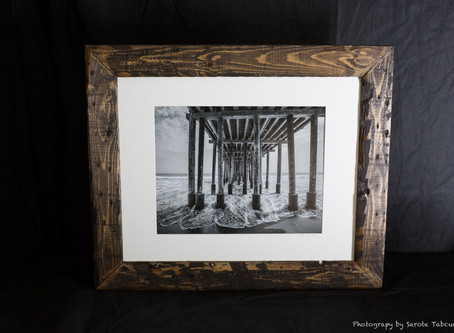 Why I started framing my own works