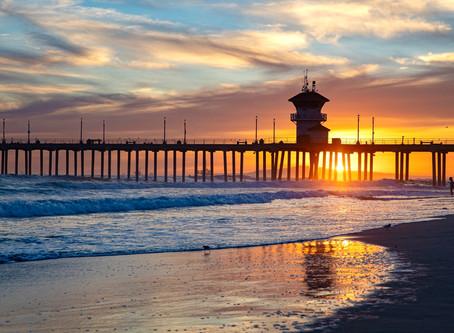 Beach day at Huntington Beach