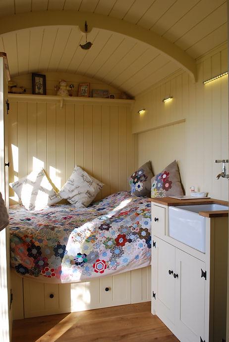 Internal View Elsie's Hut