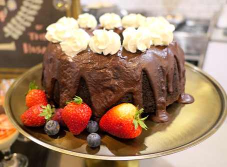 The Most Delicious Cheesecake Filled Chocolate Bundt Cake