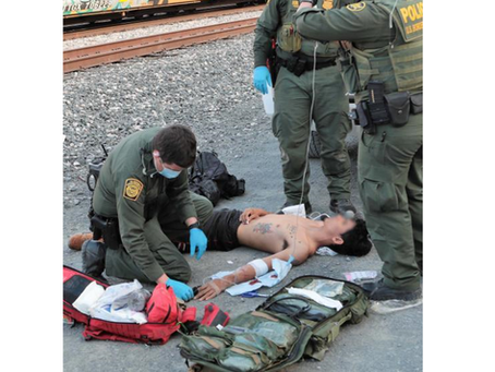 BP Agents Rescue 27 Migrants from Railcars near Eagle Pass