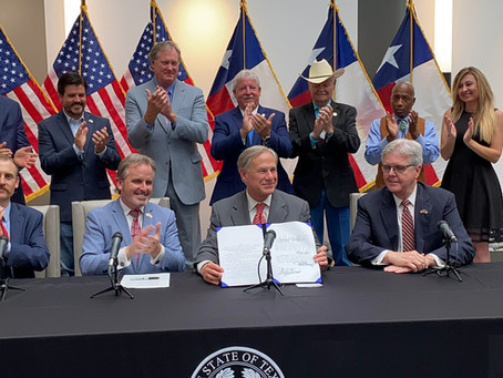 Governor Abbott Signs Election Integrity Legislation Into Law