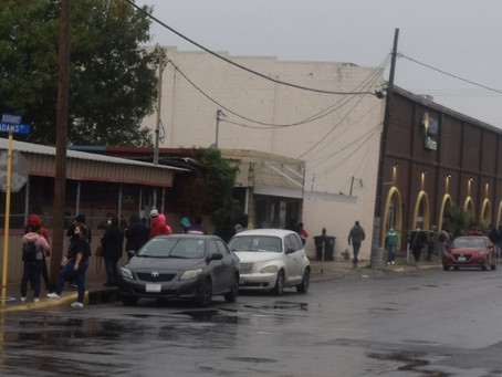 Come rain or shine, dozens line up outside plasma donation centers in Eagle Pass