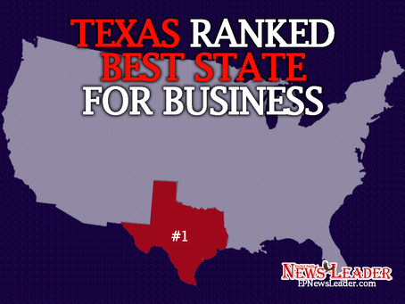 Texas Ranked #1 State for Business