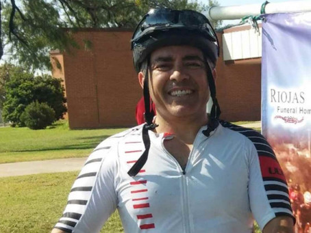 Former EP Mayor Luis Sifuentes to cycle 500 miles to help fight Kids' Cancer