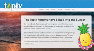 Topix closes, EP people now using fake Facebook profiles to