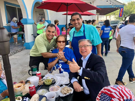 Attorney General candidate Joe Jaworski visits Eagle Pass