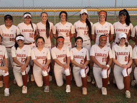 Lady Eagles looking for area championship this weekend