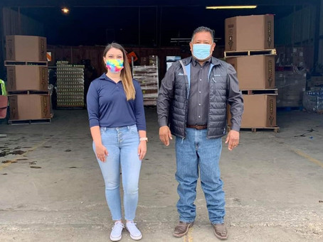 Nearly 5 million pounds of food have been distributed to Del Rioans during pandemic