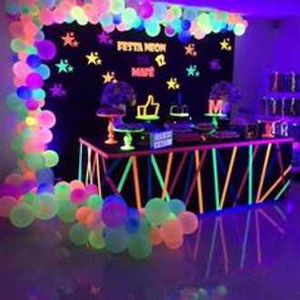 Teen's Neon Party Fridays