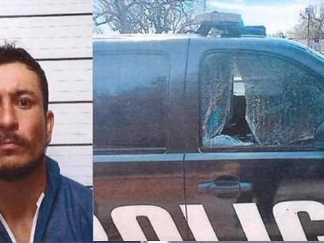 EPPD: Man waves down officer, causes 'extensive damages' in patrol unit