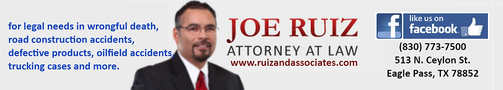 Attorney At Law Joe Ruiz Eagle Pass Texas Lawyer