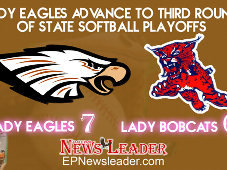 Lady Eagles advance to third round of state softball playoffs