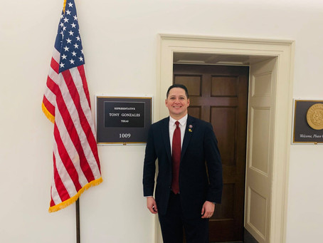 Congressman Tony Gonzales named Assistant Whip for House of Representatives