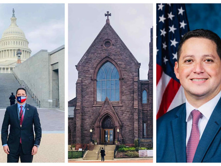 TX-23's Tony Gonzales is oriented, blessed, pictured and ready to serve in DC