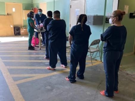 County Jail inmates undergo screening for HIV