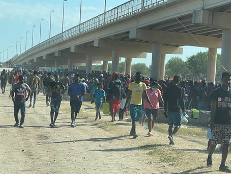 Del Rio's population could double in size by next week amid massive surge in Haitians
