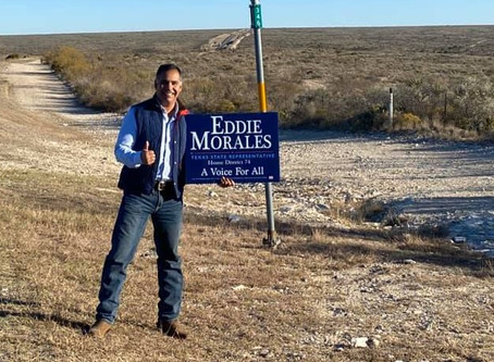 Eagle Pass News Leader endorses Eddie Morales for State Representative