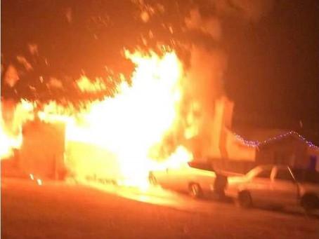 Local Del Rio family loses home in fire