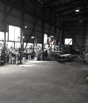 山﨑工業、技術・設備、工場内