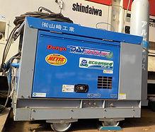 山﨑工業、技術・設備、超低騒音型ディーゼルエンジンTIG溶接機