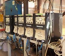 山﨑工業、技術・設備、高周波レスTIG溶接機