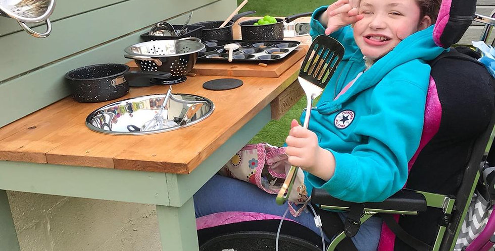 Additional Needs Mud Kitchen with Engraving