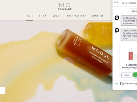 How a skincare brand increased profits by automating 100% of their live chat support