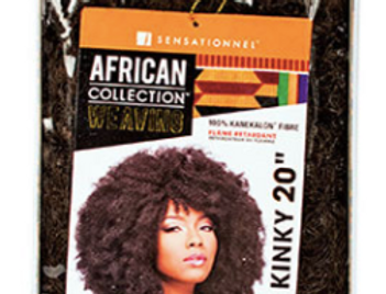 AFRICAN COLLECTION SYN AFRO KINKY WEAVING
