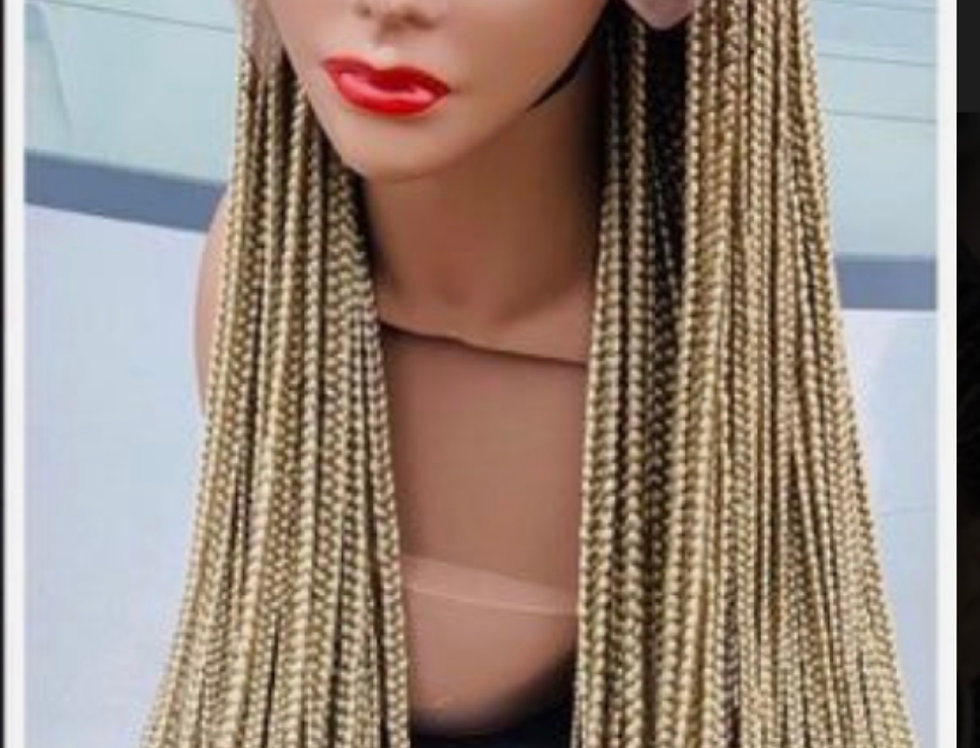 Ghana Cornrow Braided Wig