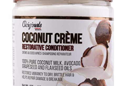Africa's Best Coconut Crème Restorative Hair Conditioner,
