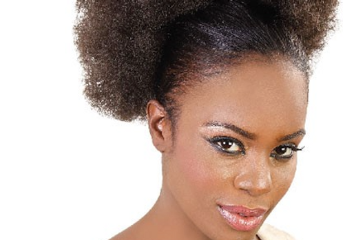 Aftress Syn Big Afro Puff