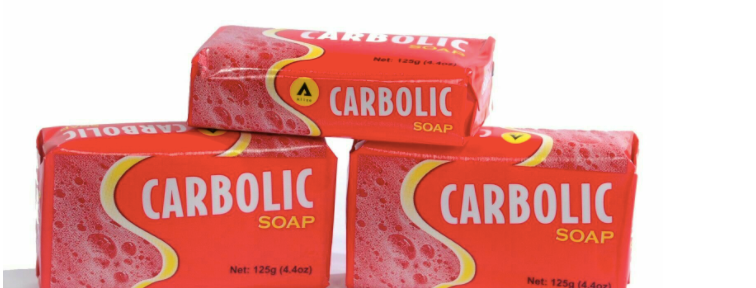 Aliza Carbolic | Soap Antiseptic | Bath & Body Soap 125g (Pack Of 3)