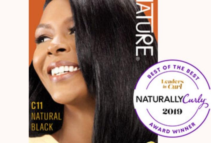 CREME OF NATURE ARGAN COLOR Shea Butter C11 Natural Black
