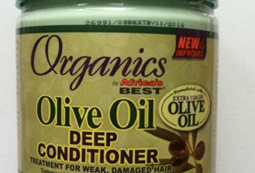 Africa's Best Olive Oil Deep Conditioner 15oz Jar