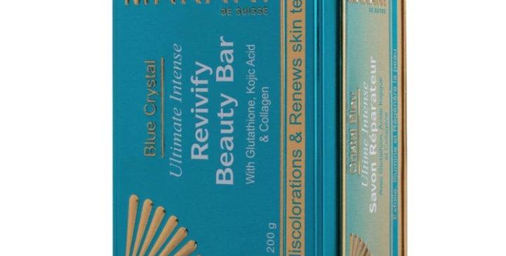 MAKARI BLUE CRYSTAL *NEW* Revivify Beauty Bar Soap 7oz