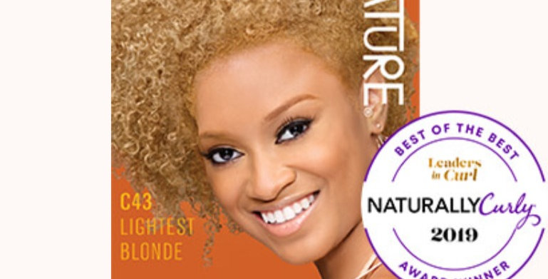 CREME OF NATURE ARGAN COLOR Shea Butter C40 Lightest Blonde