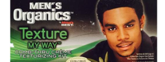 Texture My Way | Men's Comb Thru Creme Texturizing Kit (1 Application)
