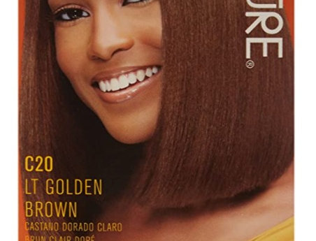 Creme of Nature Liquid Hair Color, Golden Brown C20
