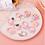 Thumbnail: Children Colorful Nylon Elastic Hair Bands For Baby Girls Rubber Bands Set Kids